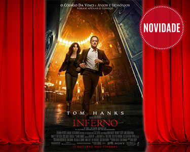 «Inferno» | Bilhete + Pipocas | Cinema City