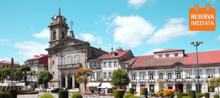Comfort Inn Fafe - Guimarães | Noite VIP com Jantar para Dois