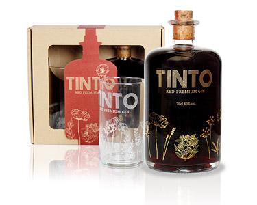 Pack Gin Tinto Red Premium Gin   100% Português