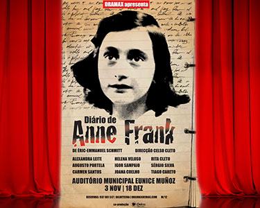 «O Diário de Anne Frank» | Auditório Municipal Eunice Muñoz - Oeiras