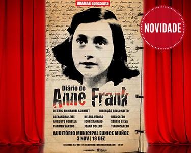 Bilhete Duplo «O Diário de Anne Frank» | Auditório Municipal Eunice Muñoz | Oeiras