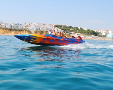 Alta Velocidade no Ocean Rocket! Passeio de 30 Minutos pela Costa Algarvia