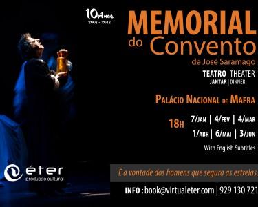 «Memorial do Convento» de José Saramago no Palácio Nacional de Mafra