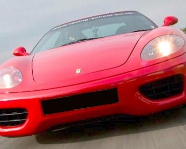 Ao Volante de um Ferrari 360 Modena F1! 1 a 4 Voltas no Circuito de Braga