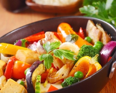 Fresh Delicafe | Iogurte e Prato Vegetariano