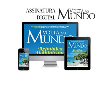 Volta ao Mundo | Assinatura Digital da Revista durante 12 Meses