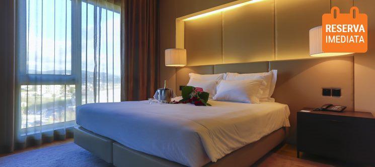 São João da Madeira Business Hotel 4* | Fuga Romântica c/ Opção de Meia Pensão