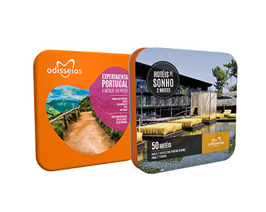 2 Presentes: Hotéis de Sonho 2 Noites e Experimenta Portugal