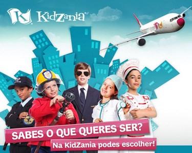 KidZania   Bilhete de Criança + Pipocas   Vamos Brincar aos Adultos!