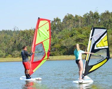 Baptismo Windsurf | 2 Pessoas | Lagoa de Óbidos