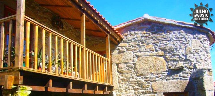 Féiras em Turismo Rural | 2, 3, 5 ou 7 Noites na Casa do Monge