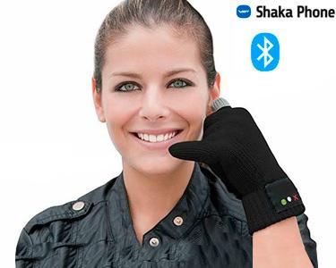 Luvas Bluetooth Shaka | Headset Prático