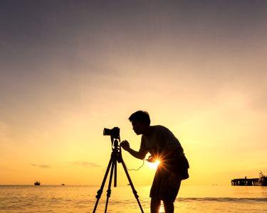 Fotografe o Pôr-do-Sol no Tejo: Experiência Fotográfica na Fundação Champalimaud | 2 Horas