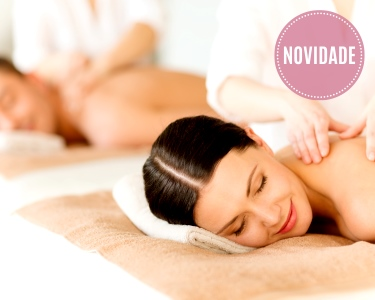Ritual Premium a 2 | Massagem + Mini-Facial + Oferta Final | Sintra