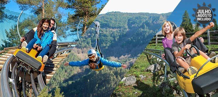 Pena Aventura Park  | Noite em Hotel 4* + Alpine Coaster & Fantasticable