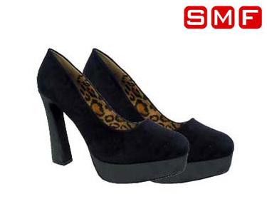 Sapato Cunha 100% Camurça SMF® Preto