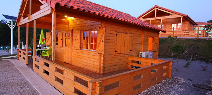 Bungalow in Love! 1 ou 2 Noites no NaturWaterPark | Vila Real