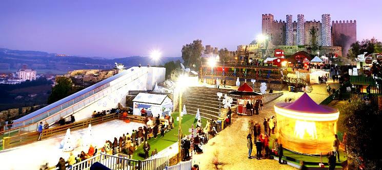 Óbidos Vila Natal: Noite + Entradas na Vila Natal por 55€ (2 pessoas)