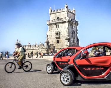 Passeio em Twizy Eléctrico | 2 Pessoas | Lisboa