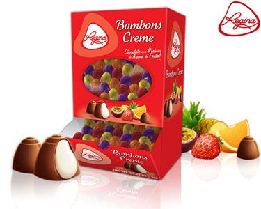 Bombons c/ Recheio e Sabor a Fruta Regina® | 1 KG