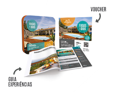 2 Presentes: Fugas a Dois e Experimenta Portugal