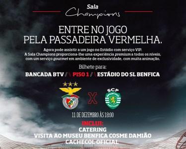 O Derby do Ano! Benfica - Sporting   Red Carpet Experience   11 de Dezembro às 18h