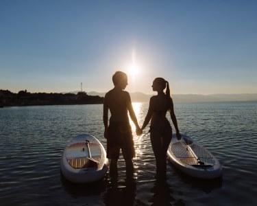Romance nas Águas da Ericeira   1h30 de Stand-Up Paddle para Dois!