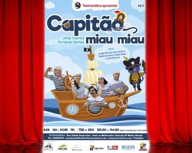«Capitão Miau Miau» - o Musical | Bilhete Duplo | Queluz