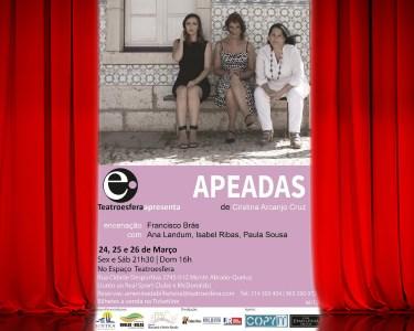 «Apeadas» | Bilhete Duplo | Teatroesfera - Queluz