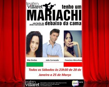 «Tenho Um Mariachi Debaixo da Cama» | Comédia Hilariante e Contemporânea no Teatro Villaret
