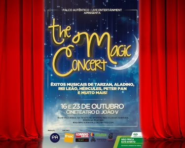 «The Magic Concert» - Bilhete Duplo | Cineteatro D. João V