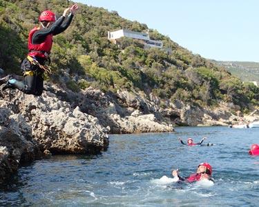 Coasteering   1 Pessoa   Portinho da Arrábida