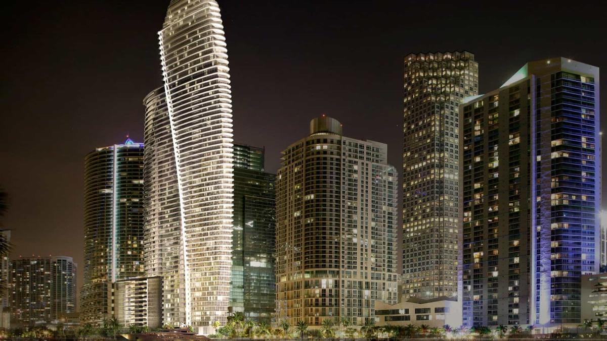 1 Bett In Miami Aston Martin Residences