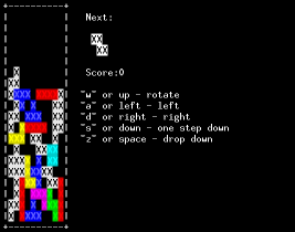 Tetris by sed feature image