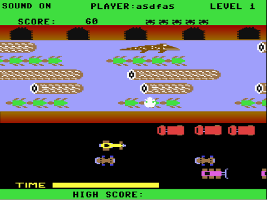 Frogger by flash feature image
