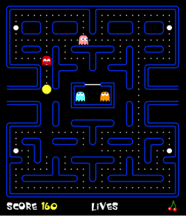 Pacman by flash feature image