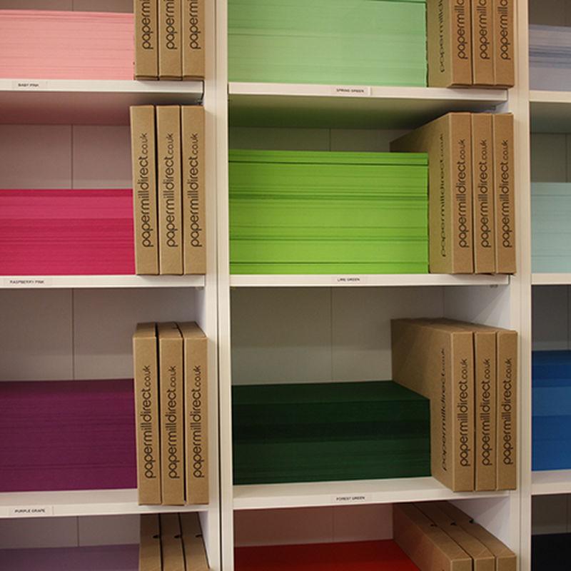 Paper On Shelves