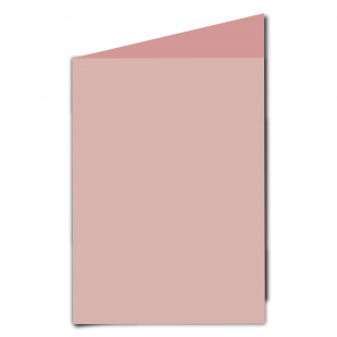 A5 Baby Pink Card Blanks