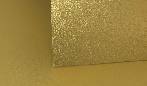 One Sided Gold Sandgrain Card 305gsm