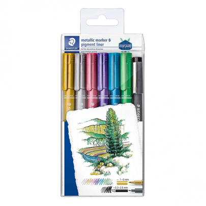 Staedtler Multi Colour Metallic Markers