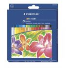 Staedtler Noris Club Jumbo Oil Pastels Box Of 24 243 Nc24