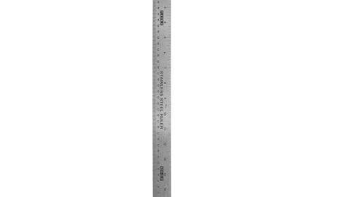 Helix 18 inch 45cm Steel Ruler