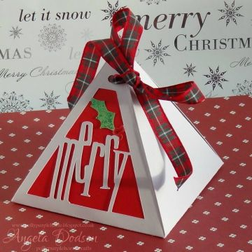 Christmas Pyramid Box