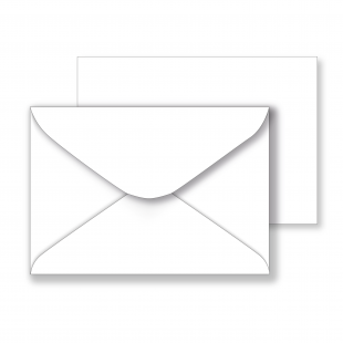 Essentials White Envelopes - 102mm x 146mm
