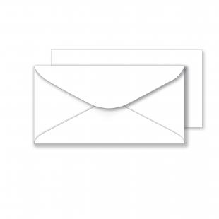 Essentials White Envelopes - 106mm x 206mm