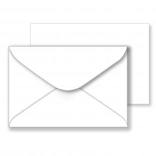 Essentials White Envelopes - 108mm x 159mm