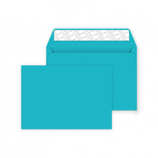C6 Peel and Seal Envelope - Cocktail Blue
