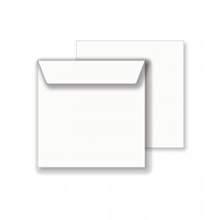 Essentials Square White Envelopes - 111mm x 111mm