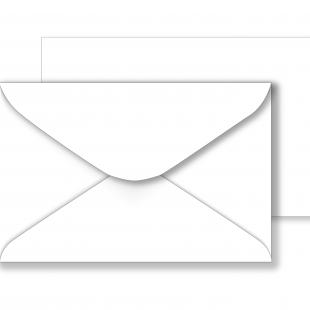 Essentials White Envelopes - 121mm x 184mm