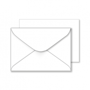 Essentials White Envelopes- 125mm x 176mm